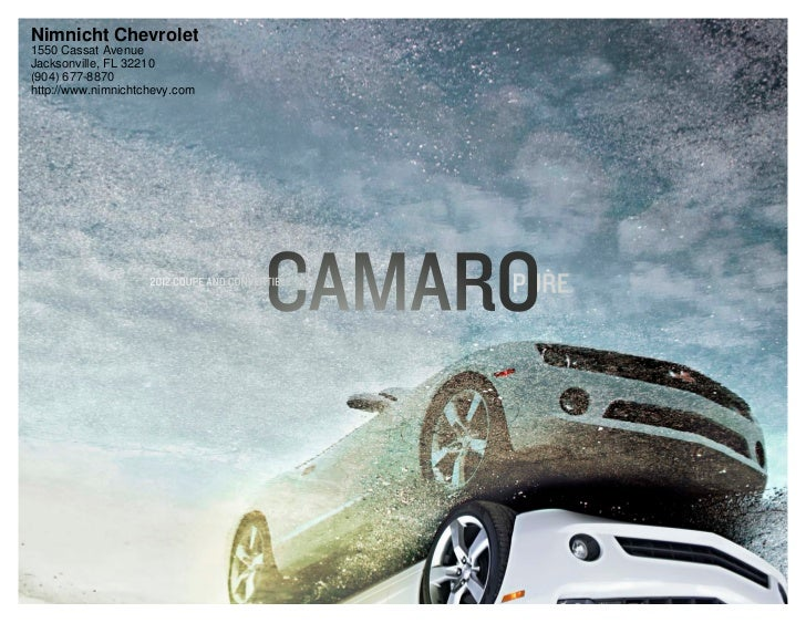 2012 Chevrolet Camaro For Sale FL   Chevrolet Dealer In Jacksonville