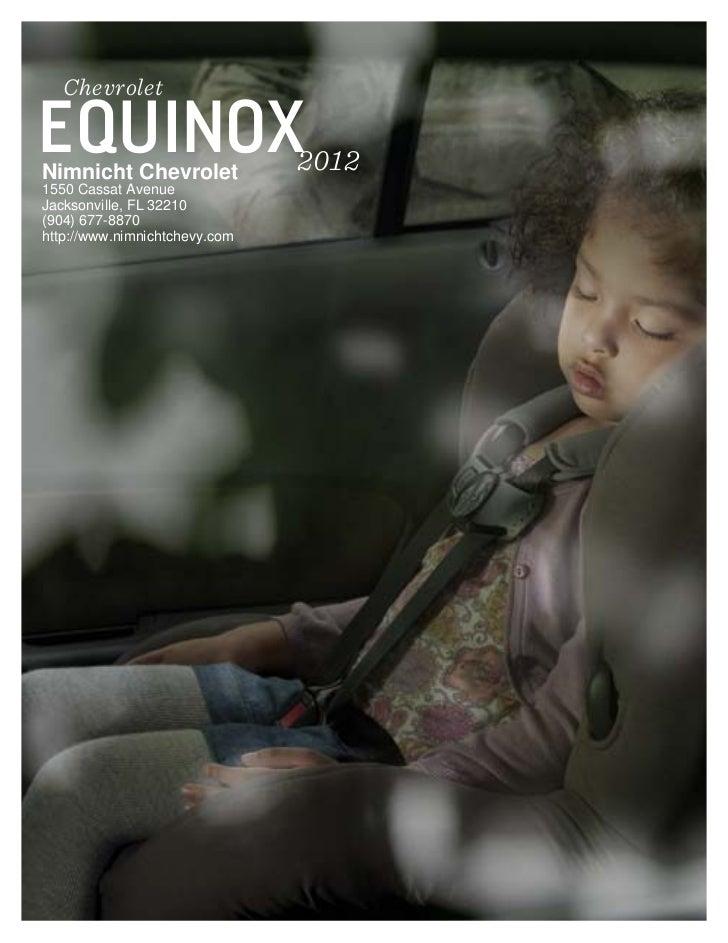 2012 Chevrolet Equinox For Sale FL | Chevrolet Dealer In Jacksonville