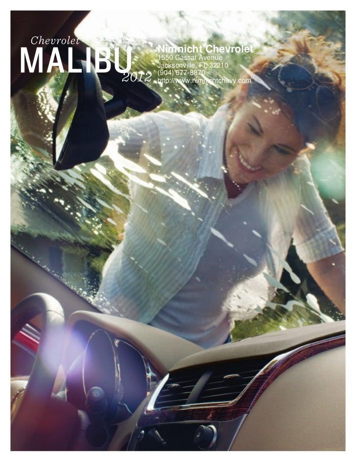2012 Chevrolet Malibu For Sale FL   Chevrolet Dealer In Jacksonville