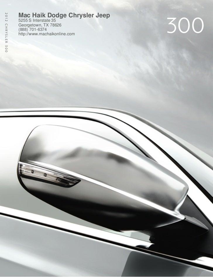 2012 Chrysler 300 For Sale TX | Chrysler Dealer Near Austin