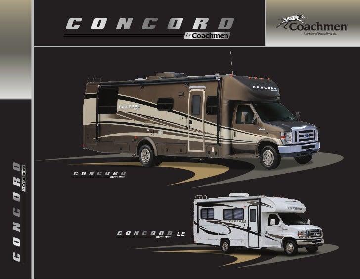 2012 Coachmen Concord Class C Motorhome