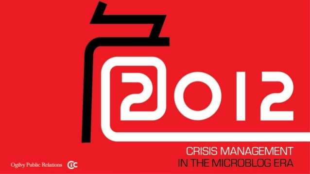 2012 crisis management in the microblog era white paper
