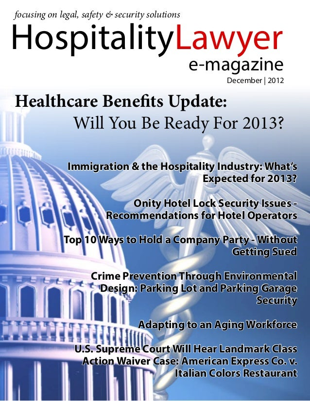 focusing on legal, safety & security solutionsHospitalityLawyer                                                 e-magazine...