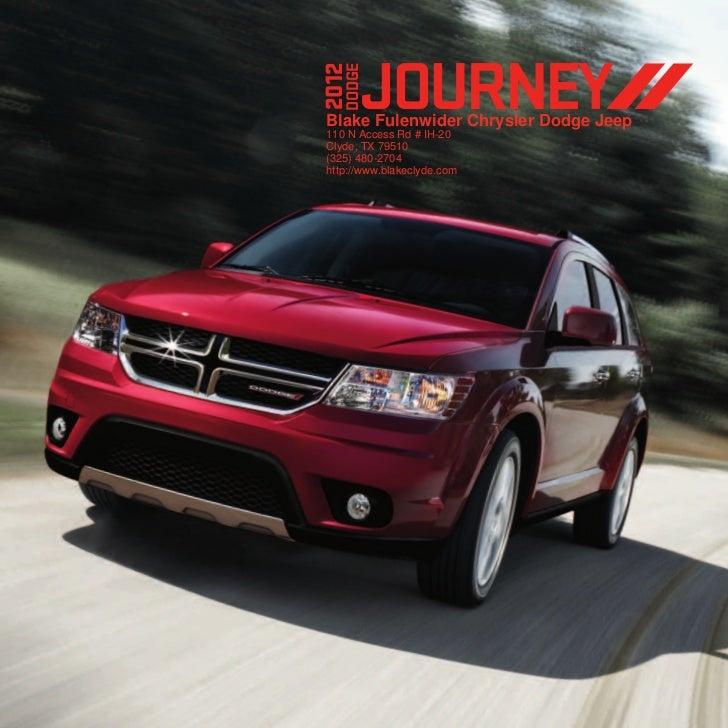 2012 Dodge Journey For Sale TX | Dodge Dealer Near Fort Worth