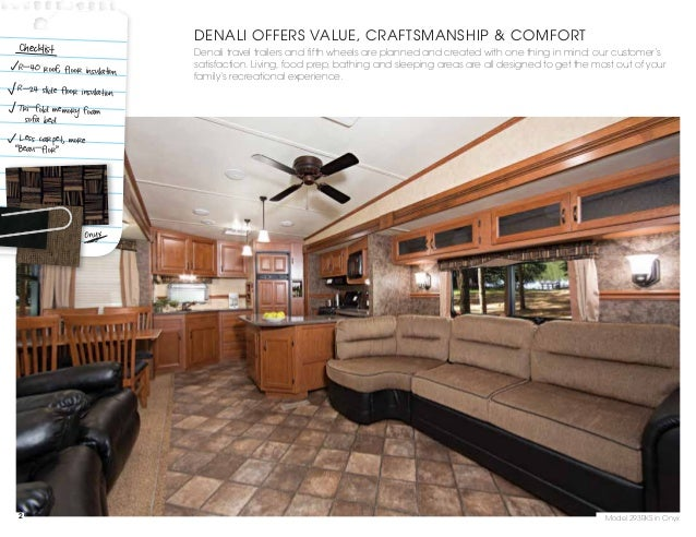 2012 Dutchmen Denali Travel Trailer Fifth Wheel