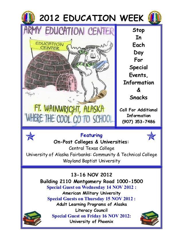 2012 EDUCATION WEEK                                                  Stop                                                 ...