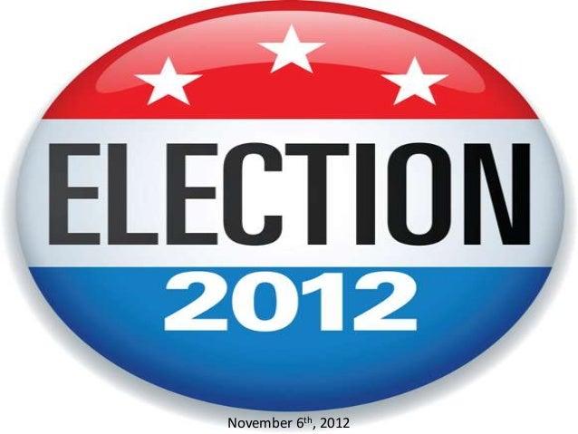 2012 General Election Prediction