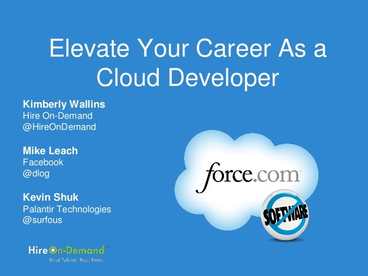 Elevate Your Career as a Cloud Developer Webinar