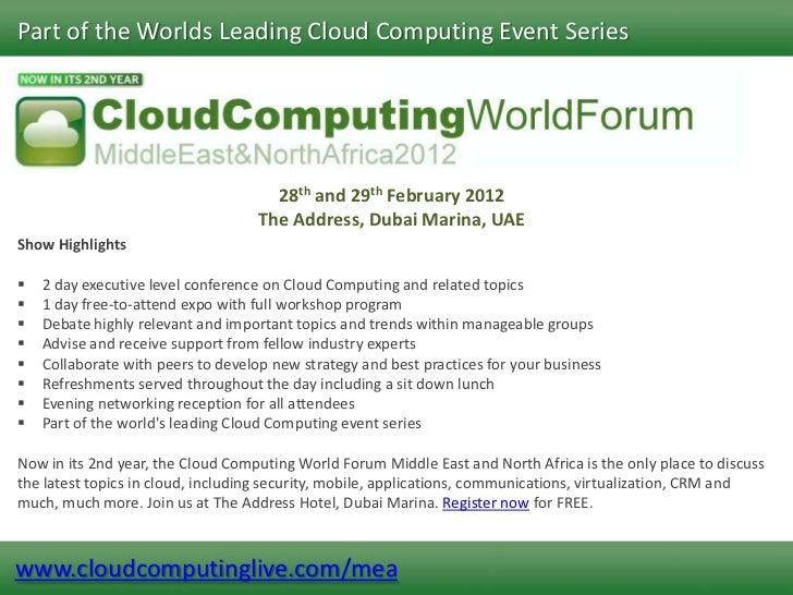 2012 Events Presentation Slide Show