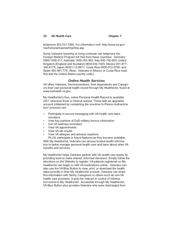 Va Caregiver Appeal Letter Sample