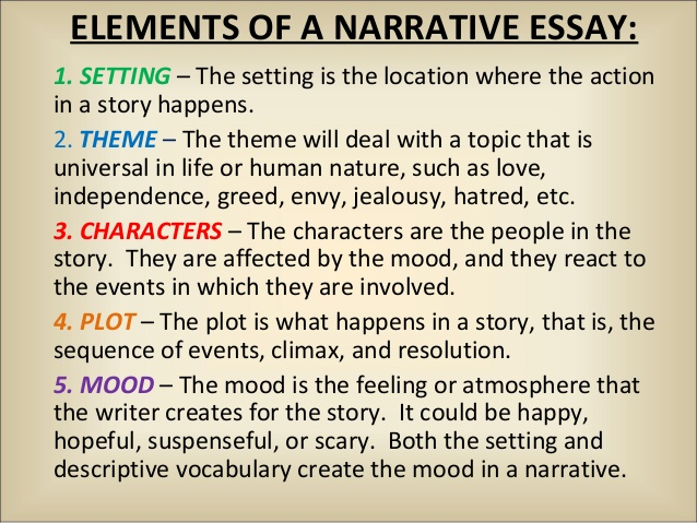 funny narrative essay