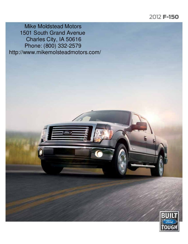 2012 Ford F-150 Brochure | Mason City Ford, Waverly Ford, and Clear Lake Ford