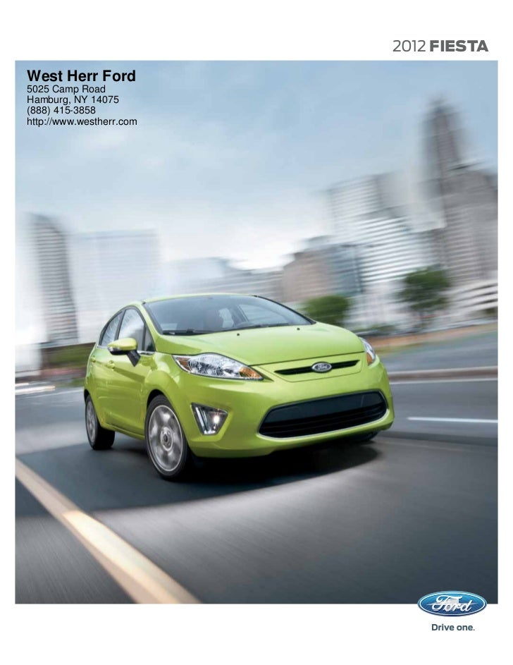 2012 Ford Fiesta For Sale NY | Ford Dealer Near Buffalo