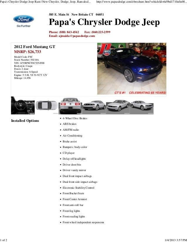 Papas Chrysler Dodge Jeep Ram   New Chrysler, Dodge, Jeep, Ram deal...           http://www.papasdodge.com/ebrochure.htm?v...