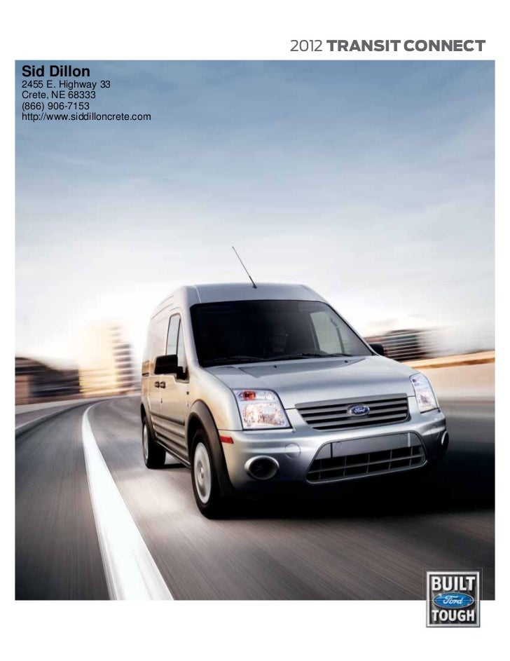 2012 Ford Transit Connect For Sale NE | Ford Dealer Nebraska