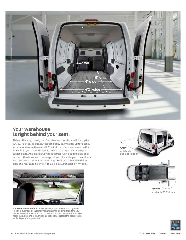Ford Transit Connect Dimensions Pictures To Pin On Pinterest Pinsdaddy