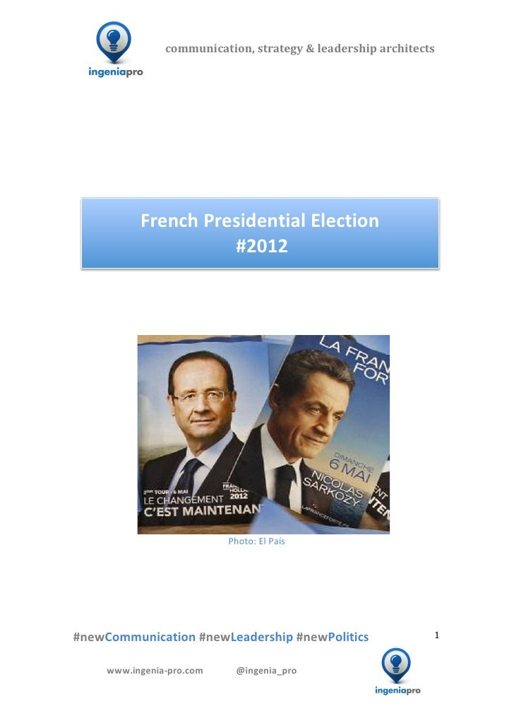 2012 Presidential French Election