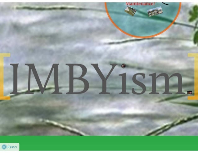 IMBYism:  LID from the Municipal Perspective