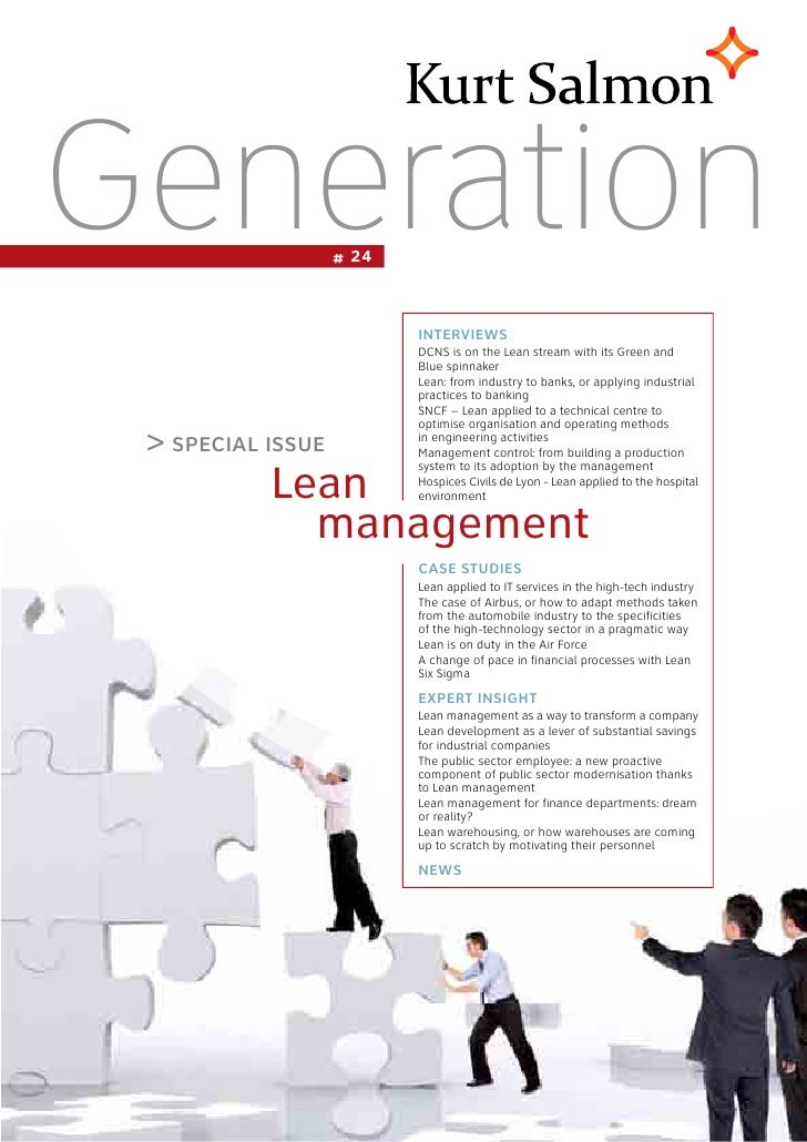 2012 generation - lean-management