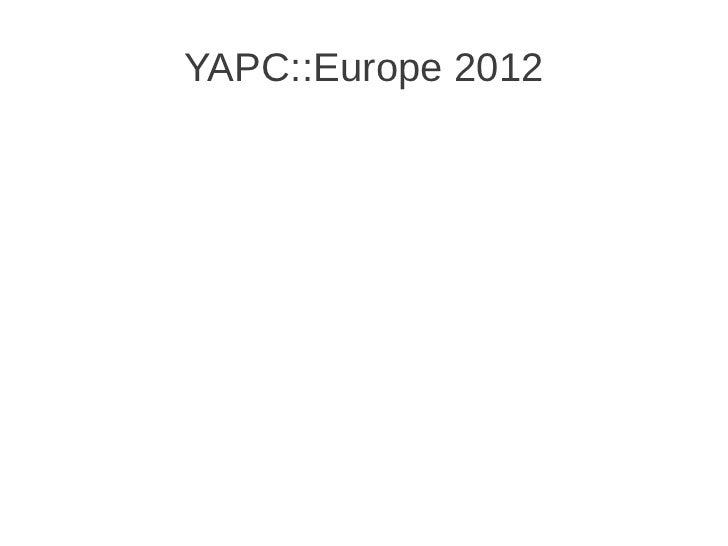 2012 gpw yapc2012
