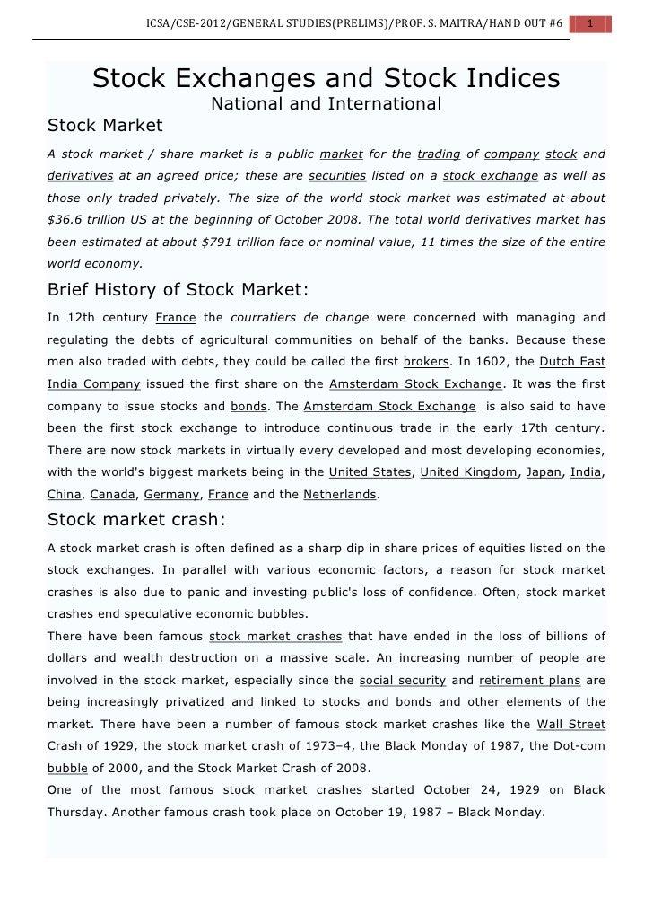 2012 ICSA GS Indian Economics Lecture 6