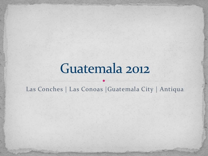 Memories of Guatemala by Crystal Waller
