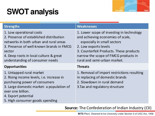 swot analysis of godrej company Godrej company profile - swot analysis: godrej group has emerged as a key home care player within the rapidly expanding indian market seeing its.