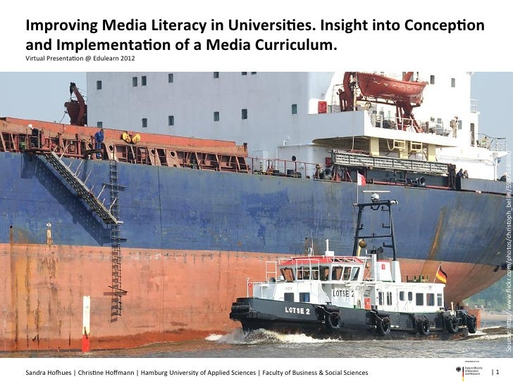 Improving Media Literacy in Universities. Insight into Conception and Implementation of a Media Curriculum