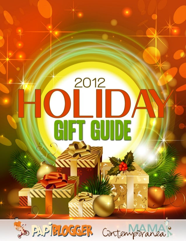 2012 Papiblogger Holiday Gift Guide