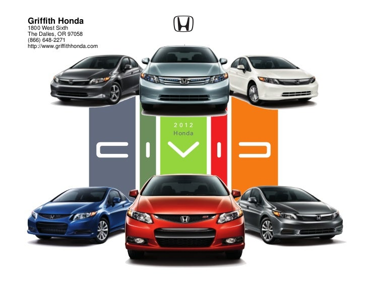 Griffith Honda1800 West SixthThe Dalles, OR 97058(866) 648-2271http://www.griffithhonda.com                               ...