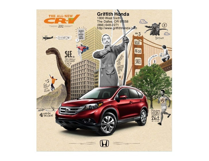Griffith Honda1800 West SixthThe Dalles, OR 97058(866) 648-2271http://www.griffithhonda.com