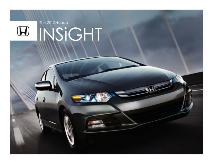 2012 Honda Insight for sale at Honda Cars of Bellevue in Omaha Nebraska