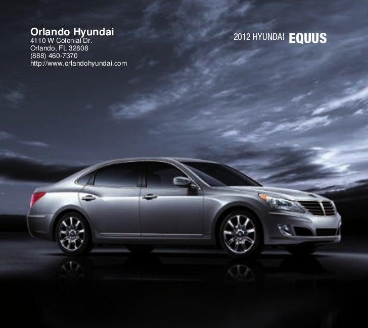 2012 hyundai equus for sale fl hyundai dealer orlando. Black Bedroom Furniture Sets. Home Design Ideas