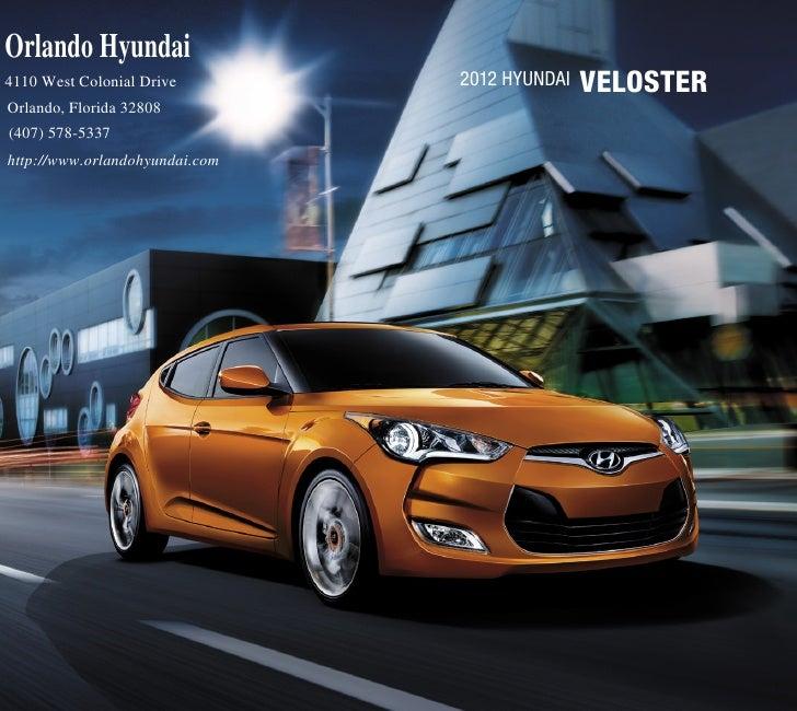 2012 Hyundai Veloster For Sale FL | Hyundai Dealer in Orlando