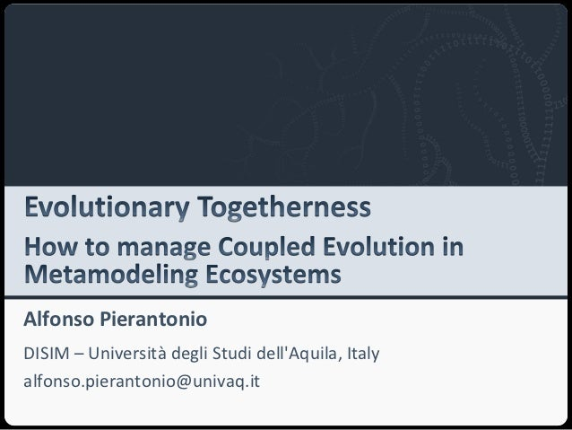 Evolutionary Togetherness: How to Manage Coupled Evolution in Metamodeling Ecosystems