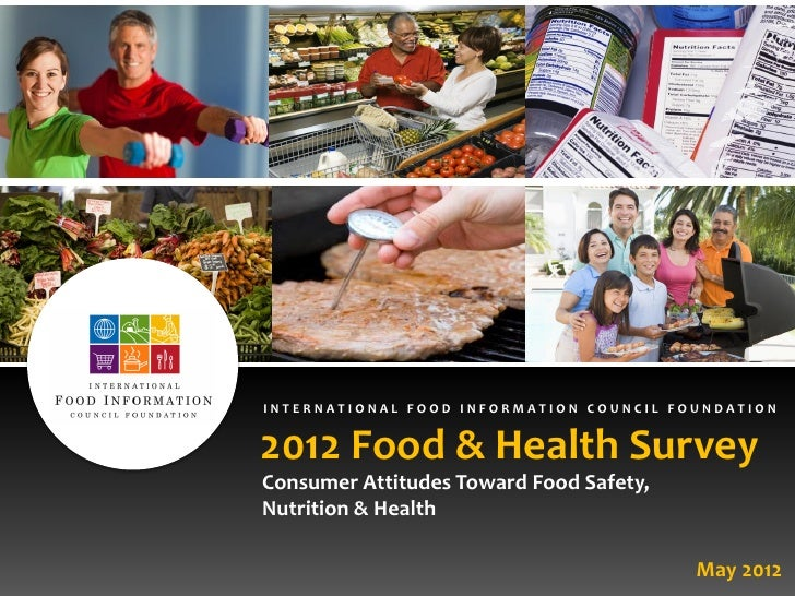 INTERNATIONAL FOOD INFORMATION COUNCIL FOUNDATION2012 Food & Health SurveyConsumer Attitudes Toward Food Safety,Nutrition ...
