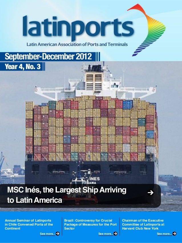 Latinports Newsletter September-December 2012