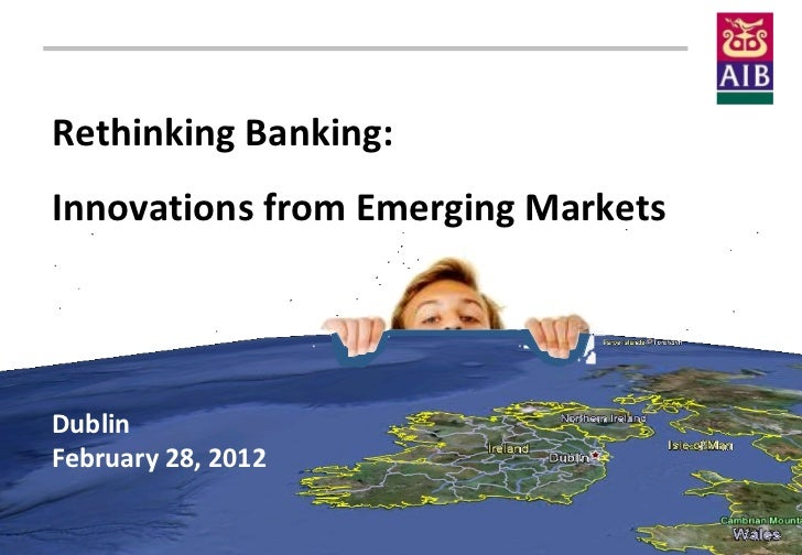 © 2012 Maris   Strategies, ltd. All rights reserved.          Rethinking Banking:          Innovations from Emerging Marke...