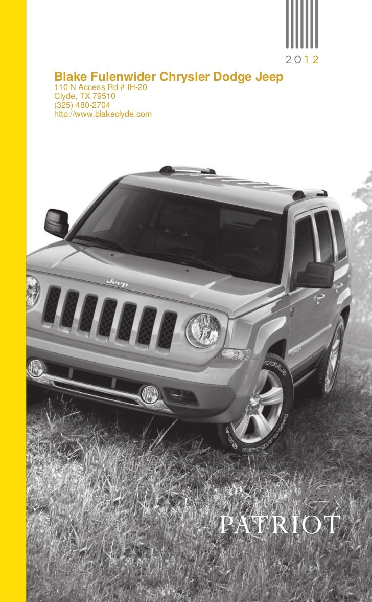 2012 Jeep Patriot For Sale TX | Jeep Dealer Near Fort Worth