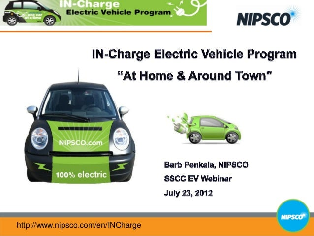 "IN-Charge Electric Vehicle Program ""At Home & Around Town"""