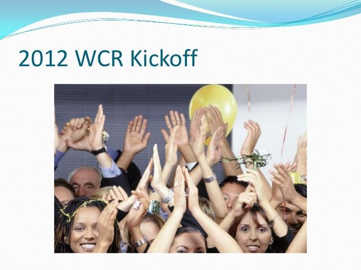 2012 kick off