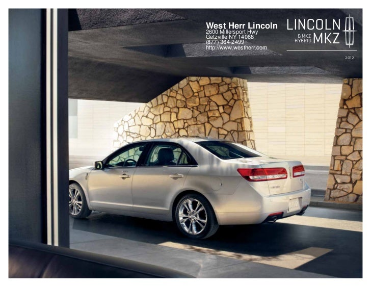 2012 Lincoln MKZ For Sale NY | Lincoln Dealer Near Buffalo