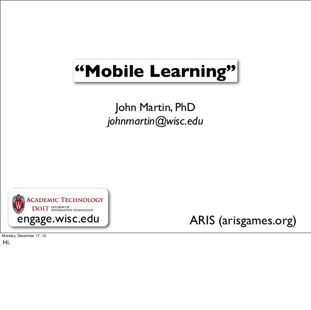 2012 ltdc mobile learning presentation 10 08-12