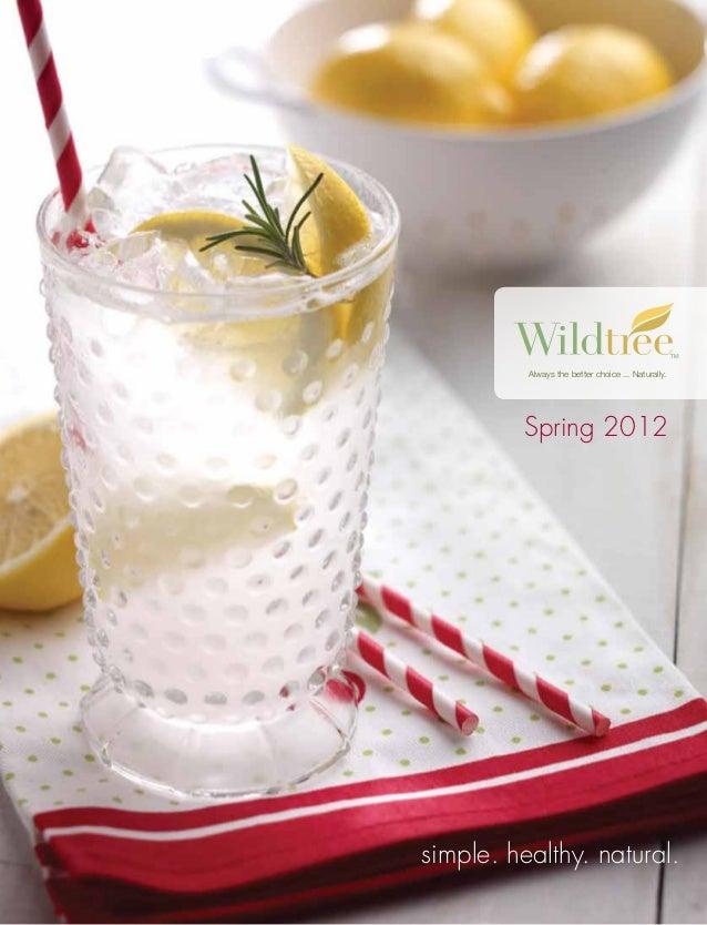 2012 Wildtree Complete Catalog