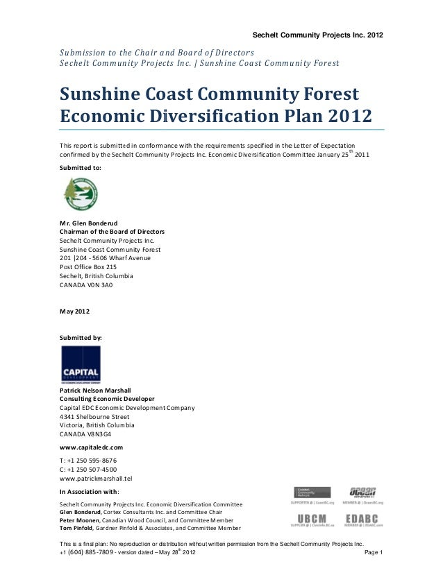 This is a +1 (604) Subm Seche 	 Sun Eco This rep confirm Submitt Mr. Gle Chairma Sechelt  Sunshin 201 |20 Post Off Sechelt...