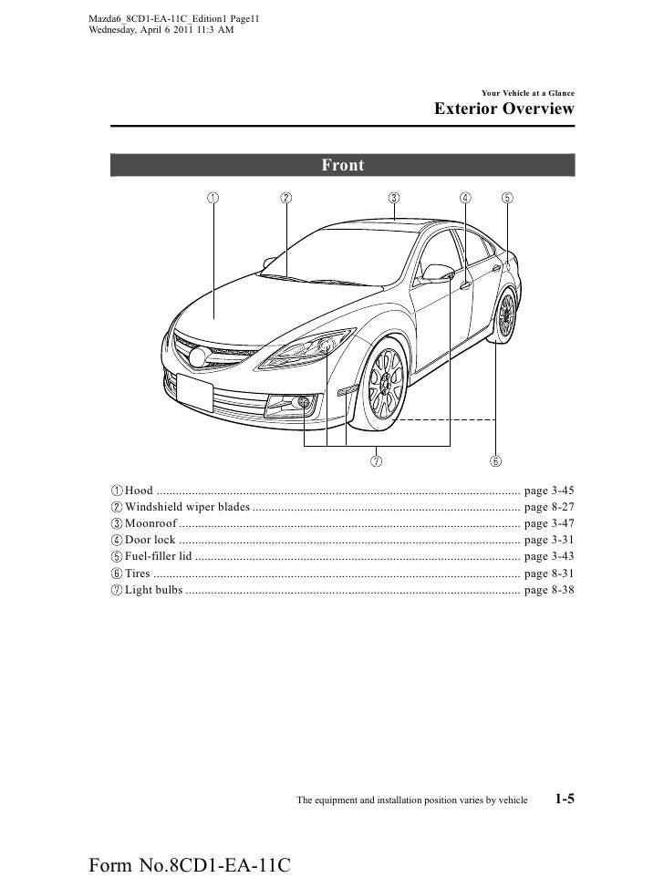 mazda 2012 3 owners manual pdf download