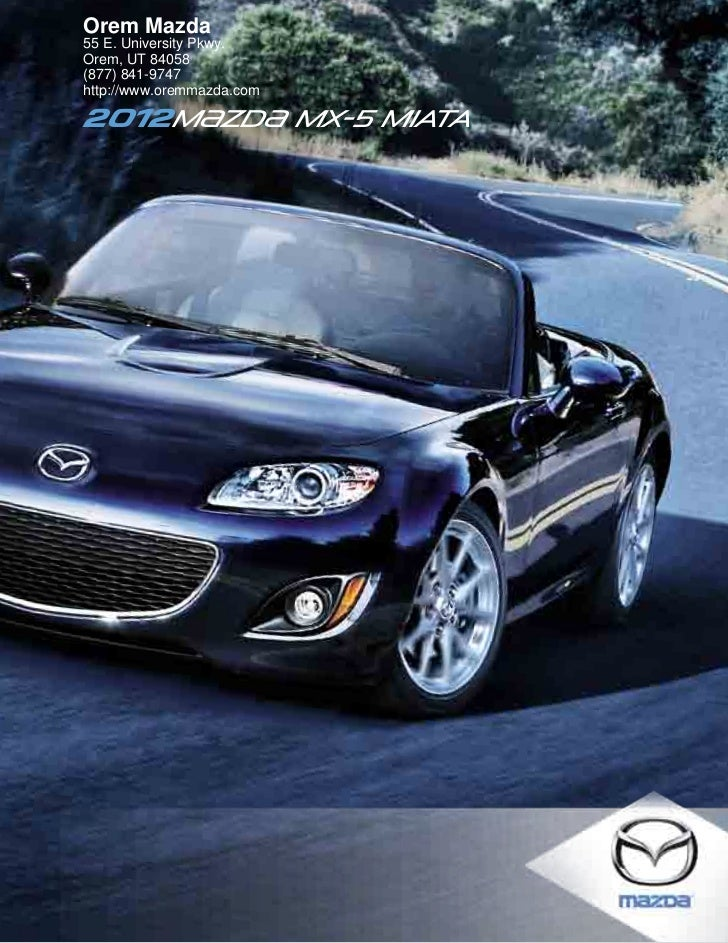 2012 mazda mx 5 miata for sale ut mazda dealer in orem. Black Bedroom Furniture Sets. Home Design Ideas