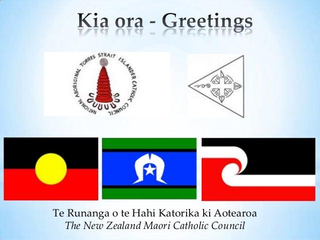 Te Runanga o te Hahi Katorika ki Aotearoa  The New Zealand Maori Catholic Council
