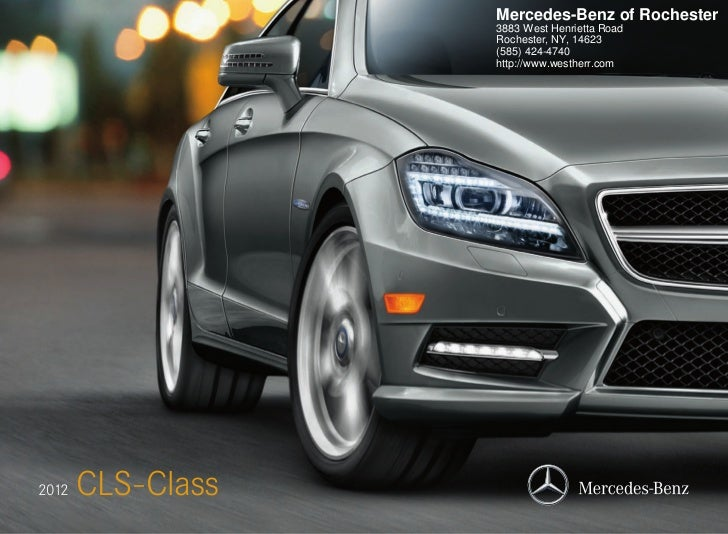 2012 Mercedes-Benz CLS-Class For Sale NY | Mercedes-Benz Dealer In Rochester