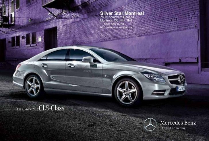 2012 Mercedes-Benz CLS-Class For Sale QC | Mercedes-Benz Dealer Montreal